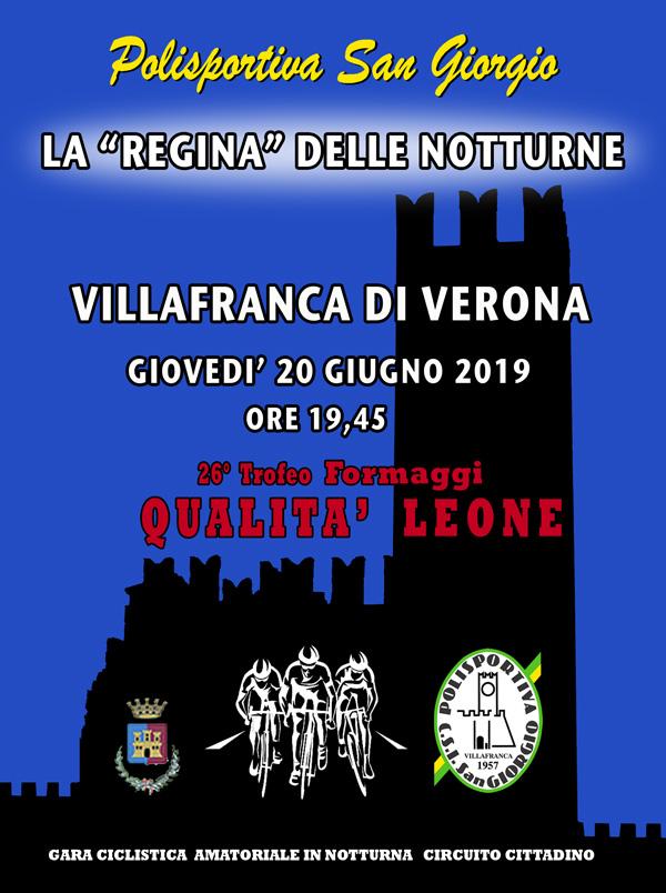 La REGINA DELLE NOTTURNE 2019