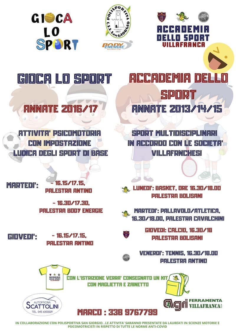 Volantino GLS a ADS Villa 2020 web